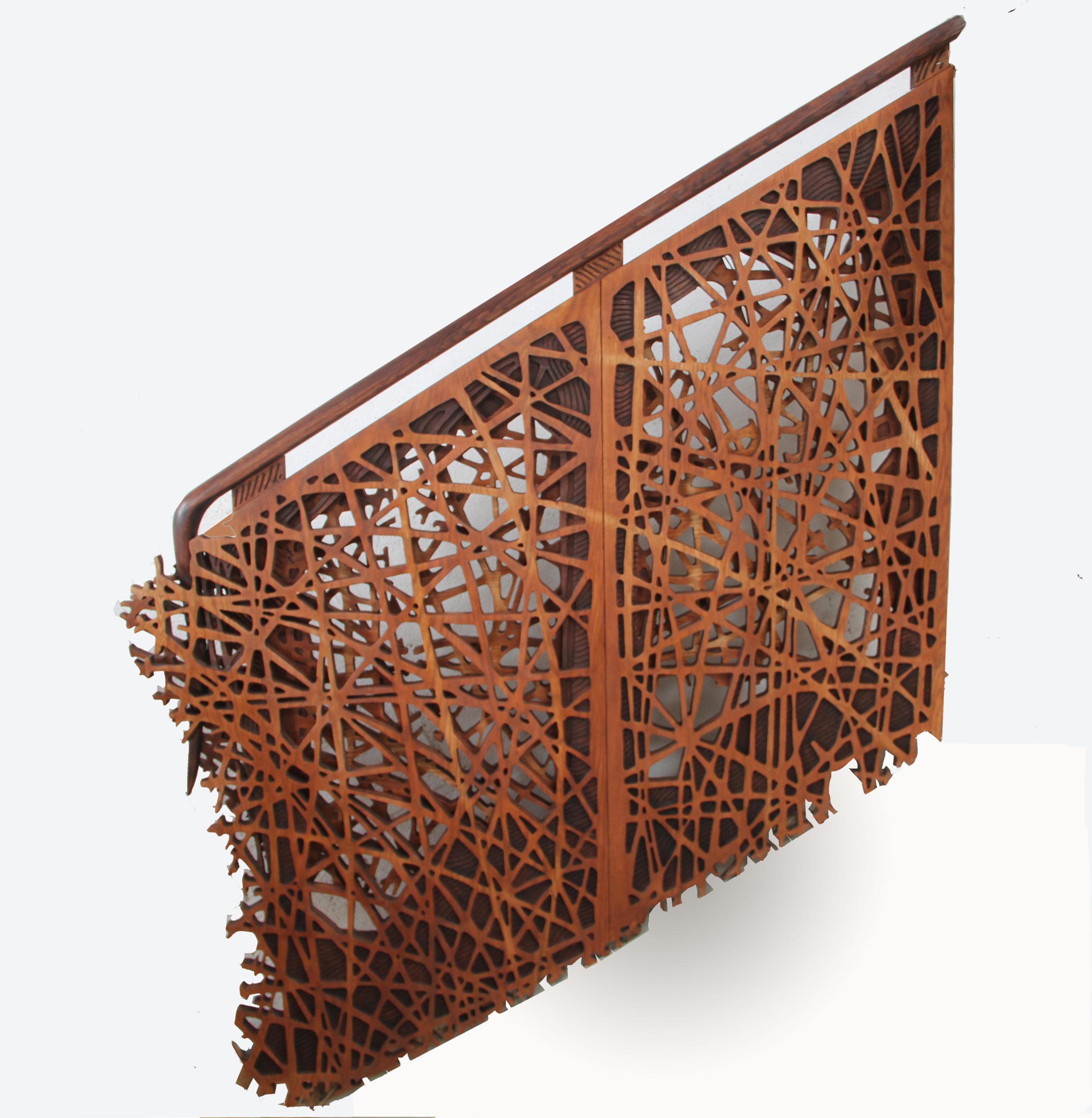 Rambarde d'escalier sur mesure