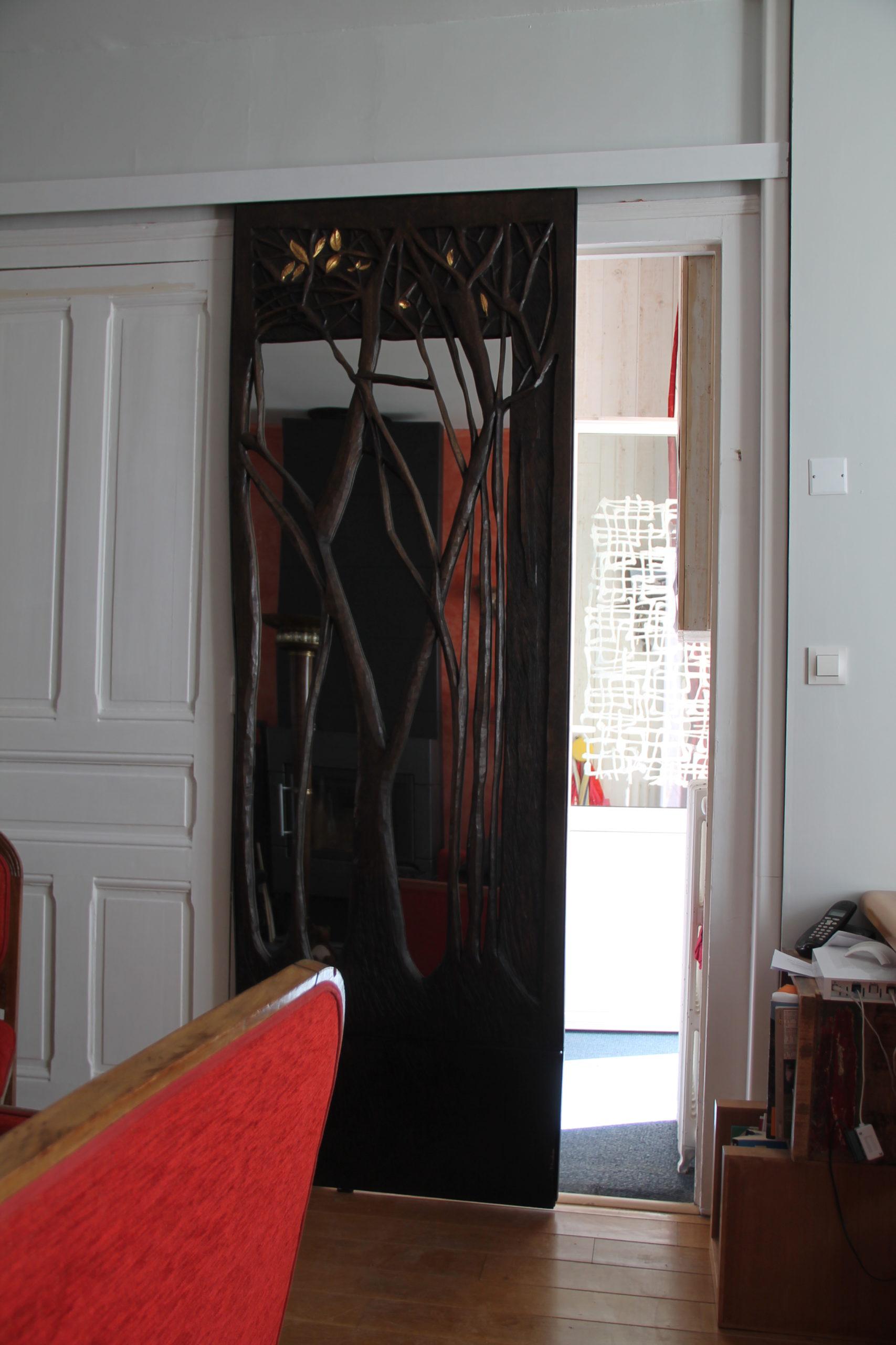 Porte miroir taillis