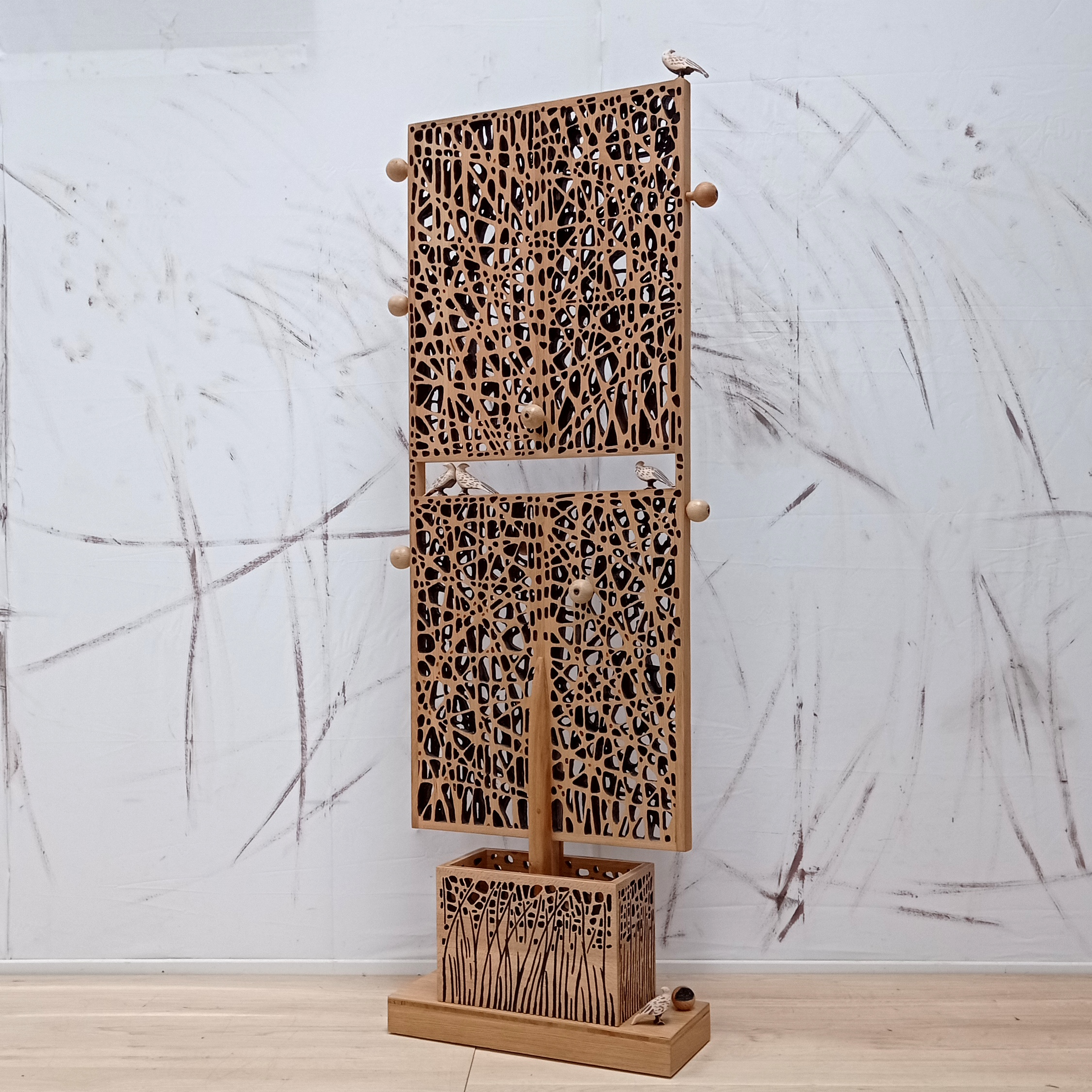 Sculpture paravent